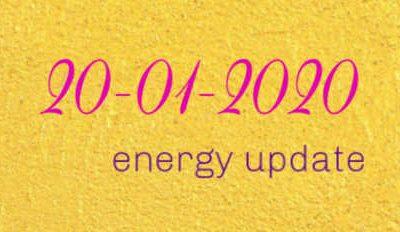 Energy update 20-01-2020