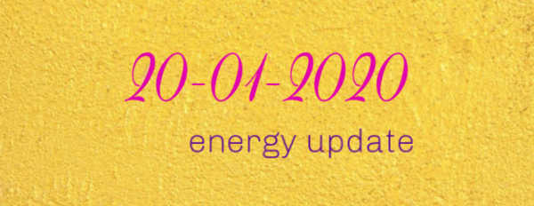 Energy update January 2020